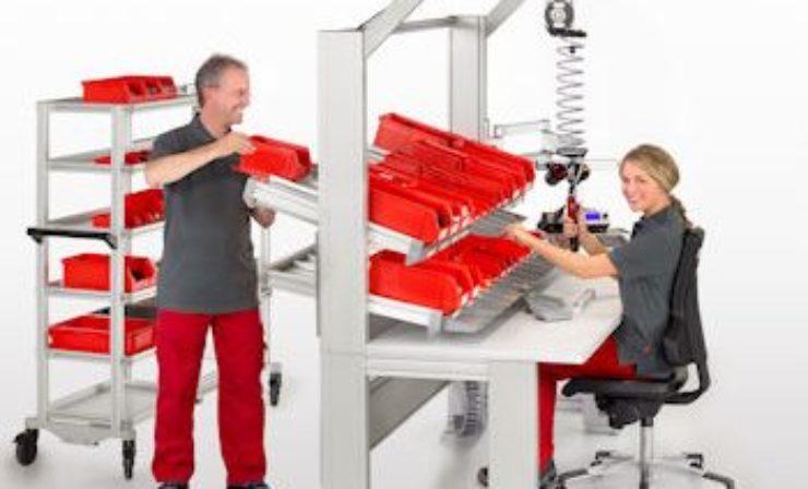 Gesunde Mitarbeiter und optimierte Produktion durch Ergologistik