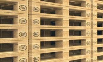 Europaletten: Produktionen auf Rekordhoch