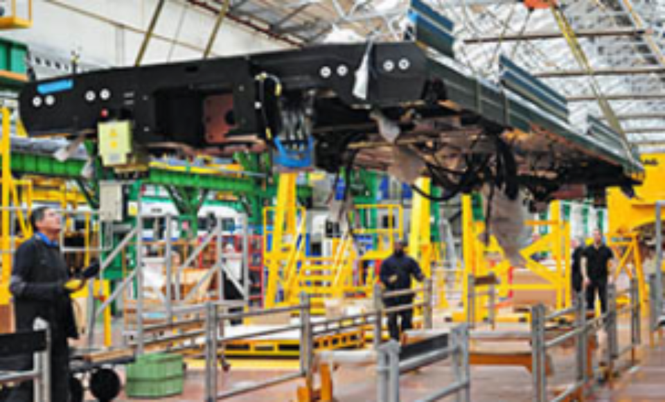 Bombardier chooses DHL for inbound at Derby