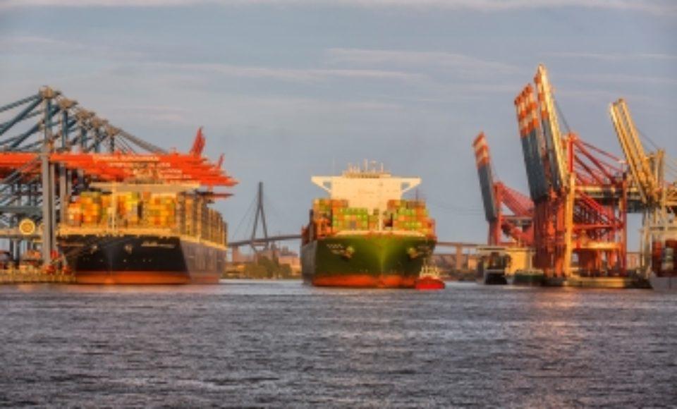 Hafen Hamburg: stabiles Umschlagergebnis auf Vorjahresniveau