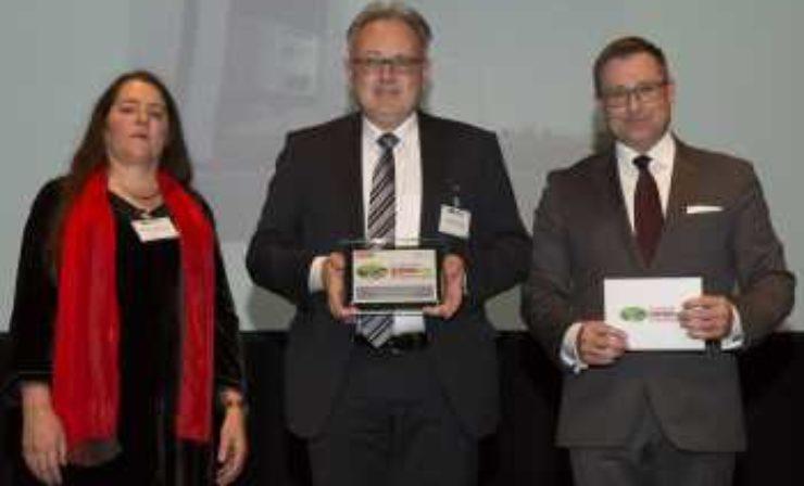 Sattelaufliegerkältemaschine von Thermo King erhält Europäischen Transportpreis für Nachhaltigkeit 2018