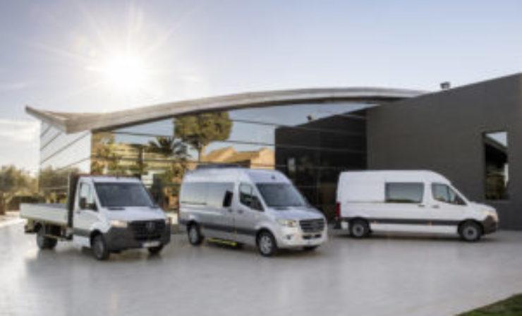 Mercedes-Benz unveils front-wheel drive Sprinter