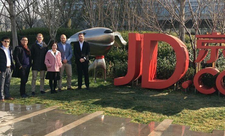 Fiege eröffnet Flagship Store auf JD Worldwide