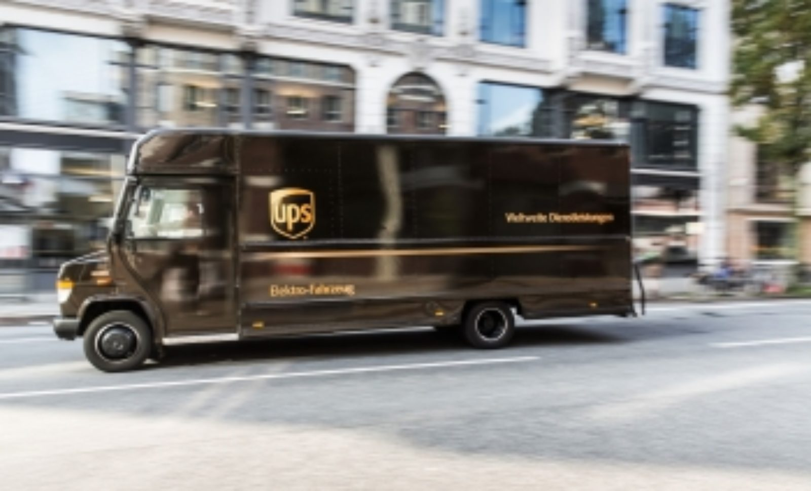 Erstes UPS-E-Fahrzeug knackt 100.000-Kilometer-Marke