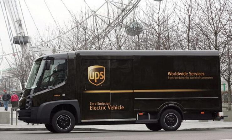 Besser spät als nie: UPS lässt eigene Elektro-Lieferwagen bauen