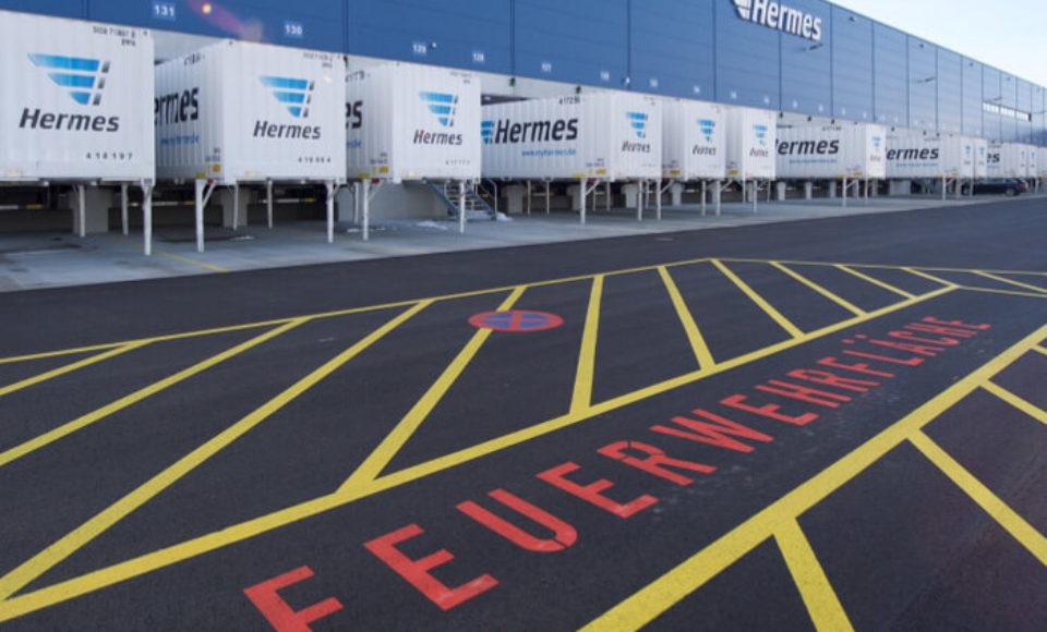 Hermes eröffnet neues Logistikzentrum in Graben bei Augsburg