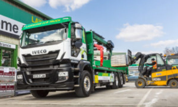 Lawsons adds gas-powered truck to fleet