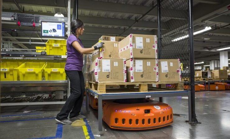 Amazon: Tausende Roboter sollen in Mönchengladbach Regale schleppen