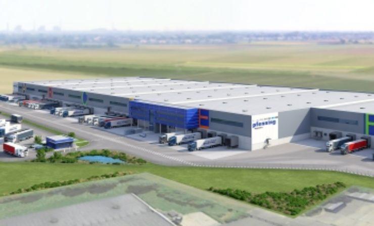 """Pfenning Logistics: Baustart für """"Multicube Rheinhessen"""""""