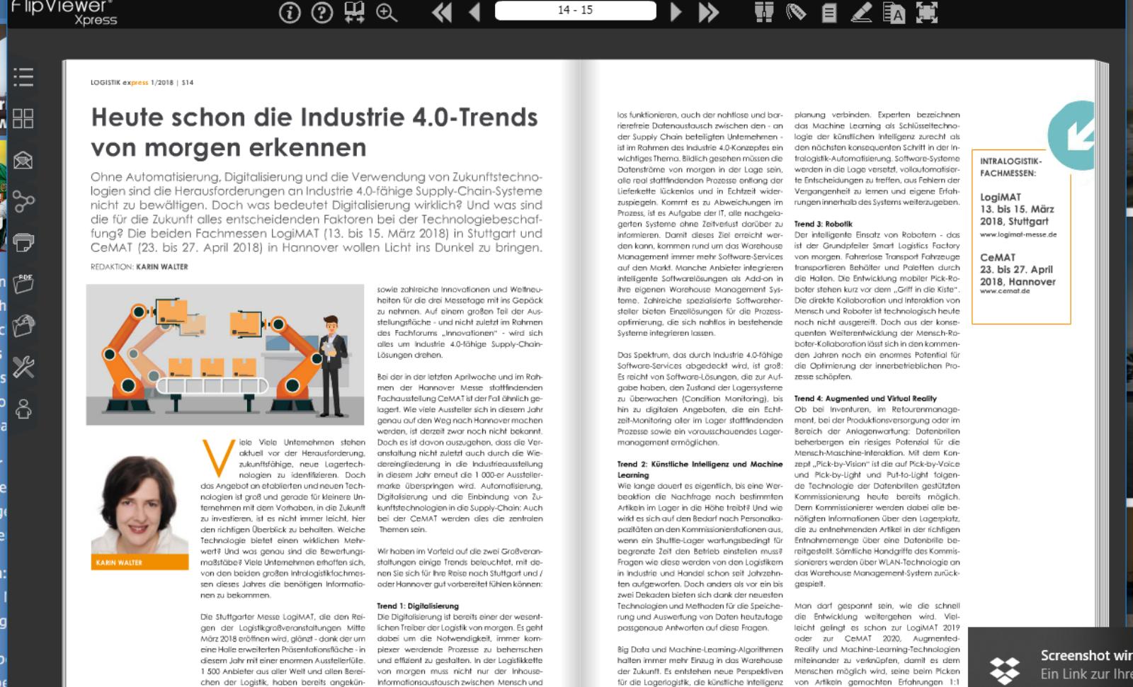Heute schon die Industrie 4.0-Trends von morgen erkennen