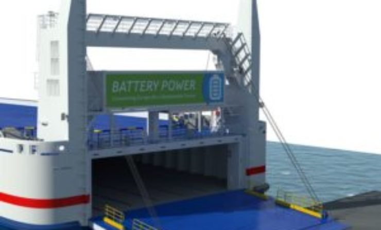 Stena tests battery-powered ships