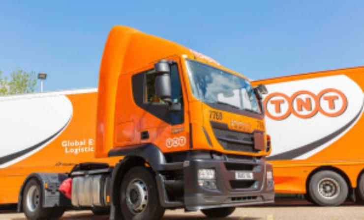 TNT's UK revenue rises but margin slips