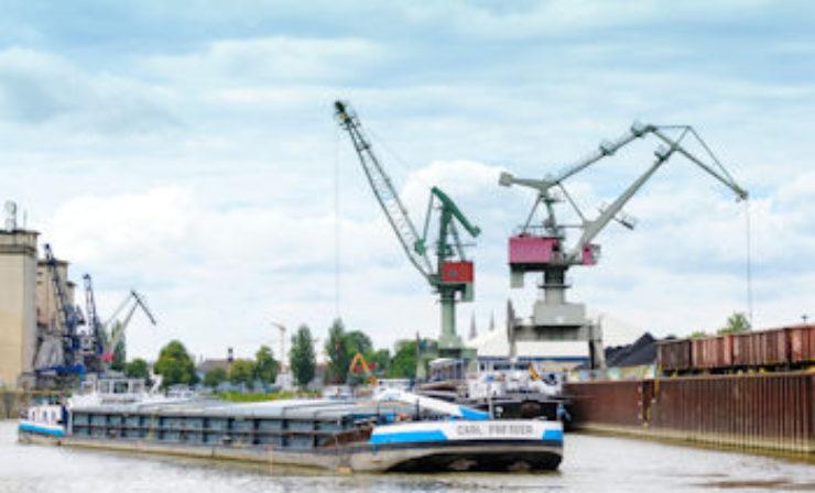 Jahresbilanz der bayernhafen Gruppe: Containerumschlag auf stabilem Niveau