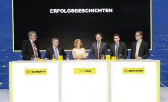 7 Talks am Puls der Zeit: Logistikexperten zu Gast bei SSI Schäfer