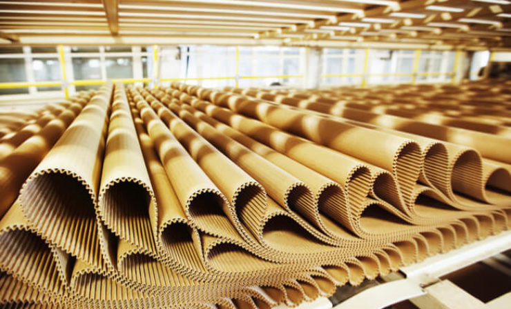 Verpackung: 7,8 Milliarden qm Wellpappe abgesetzt, Rohstoffe werden teurer