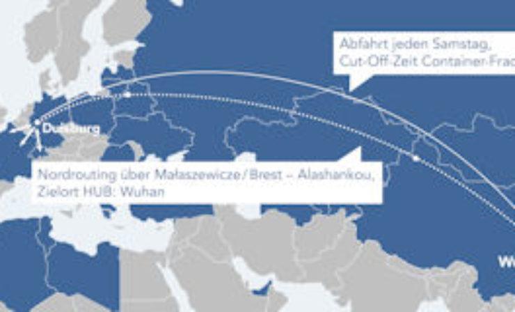 Militzer & Münch: Sammeltransporte von Duisburg nach Wuhan
