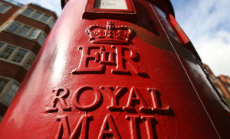 Rico Back to head Royal Mail