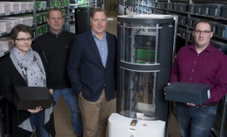 Meyer & Meyer testet Kommissionier-Roboter