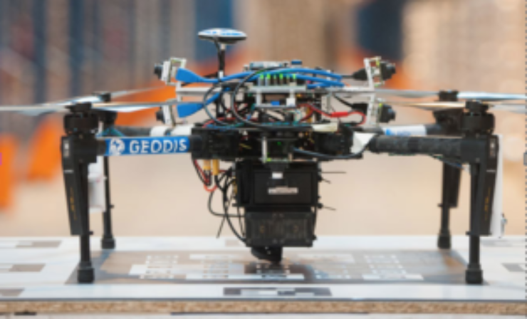 Geodis to produce drones for warehouse inventory