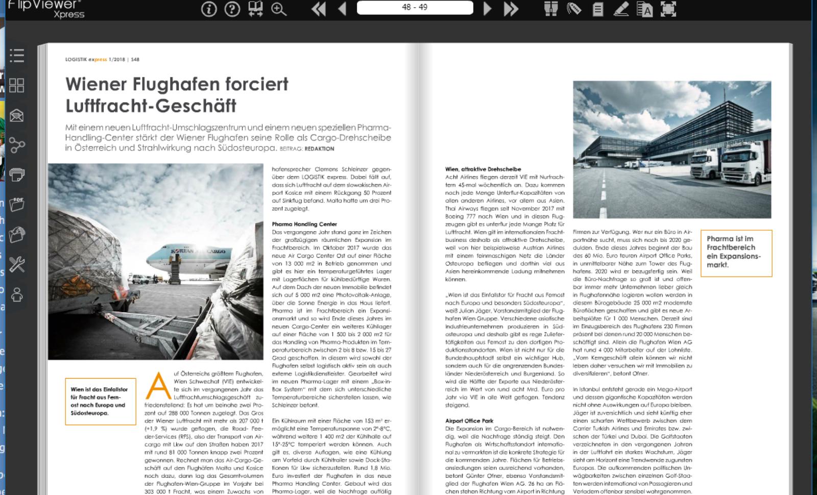 Wiener Flughafen forciert Luftfracht-Geschäft