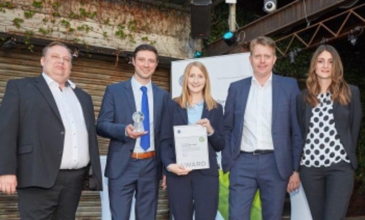 Thermotraffic erhält Umwelt-Award für Verbesserung der CO2-Bilanz