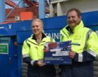 Containertransport wird elektrisch