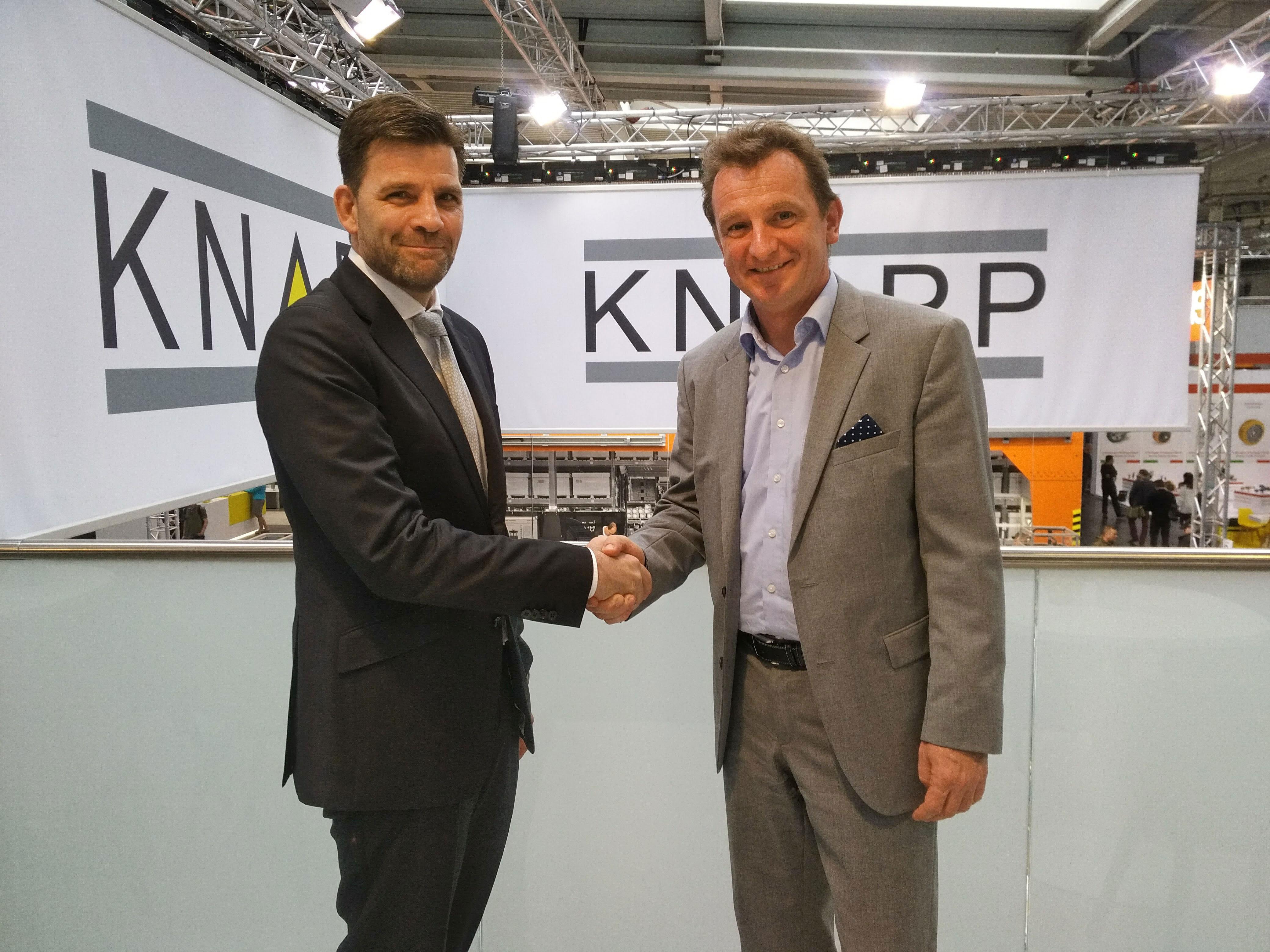 DIESEL TECHNIC AG unterzeichnet Vertrag mit KNAPP auf CeMAT