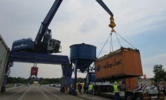 Hafen Torgau wieder eröffnet
