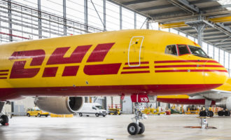 Second round the world freighter for DHL