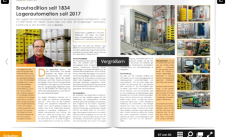 LTW: Brautradition seit 1834, Lagerautomation seit 2017