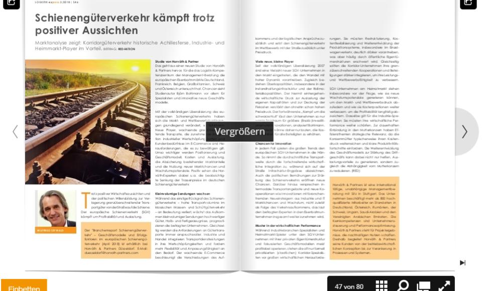 Schienengüterverkehr kämpft trotz positiver Aussichten