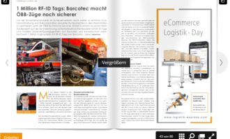 1 Million RF-ID Tags: Barcotec macht ÖBB-Züge noch sicherer