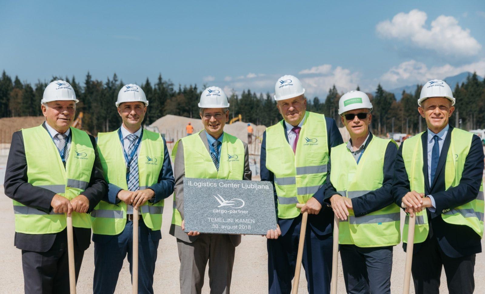 cargo-partner beginnt offiziell mit Bau des iLogistics Centers in Ljubljana