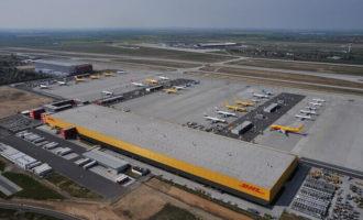 Jubiläum: DHL Express Hub Leipzig/Halle feiert zehnjähriges Bestehen