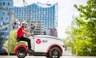DPD setzt in der gesamten Hamburger City auf E-Mobilität