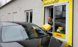 Paket-Drive-In: Deutsche Post testet ersten Autoschalter