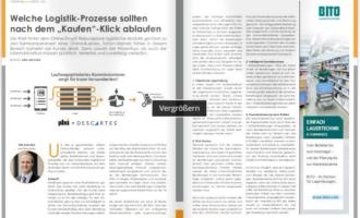 """Welche Logistik-Prozesse sollten nach dem """"Kaufen""""-Klick ablaufen"""