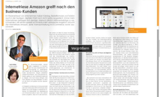 Internetriese Amazon greift nach den Business-Kunden