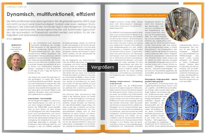 Dynamisch, multifunktionell, effizient
