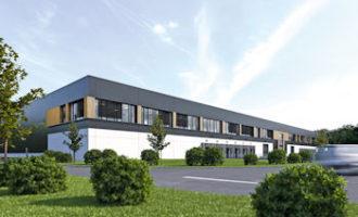 Baubeginn im Segro Logistics Park in Oberhausen