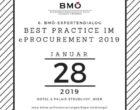 "6. BMÖ-Expertendialog ""Best Practice im eProcurement 2019"""
