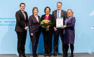 Dachser ist Preisträger des Bundeswettbewerbs Nachhaltige Urbane Logistik