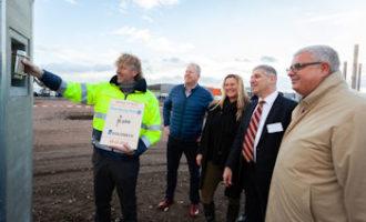 Neues Logistikzentrum von TST feiert Richtfest