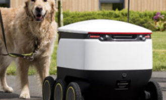 Starship Technologies collaborates with Guide Dogs