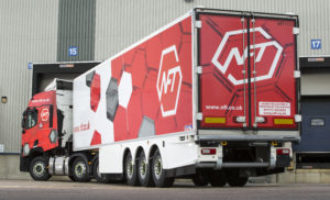 Logistics company reduces emissions with 40 Schmitz Cargobull trailers