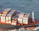 Containers lost from MSC Zoe in storm