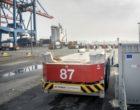 HHLA: Containertransporter sorgen als mobile Stromspeicher für mehr Netzstabilität