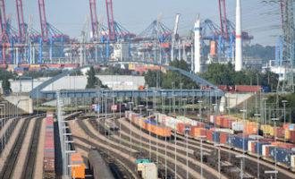 Hafen Hamburg mit Rekordergebnis im Seehafen-Hinterlandverkehr auf der Schiene