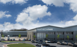 Four new warehouses for Pantheon Park