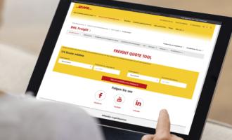 DHL Freight launcht Online-Tool für die Preiskalkulation von Frachtkosten